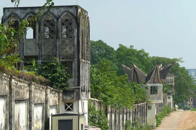 The west wall of Pudu Prison/ Author:CmgleeCC BY-SA 3.0
