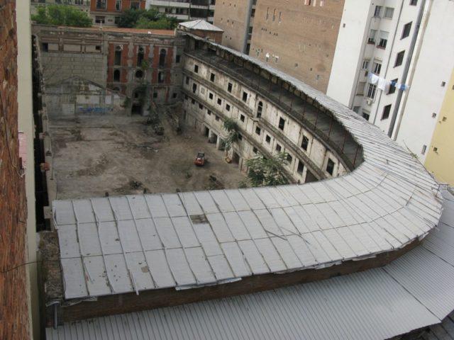 Aerial view of the Frontón Beti Jai – Author: Igor González Martín – CC BY-SA 2.0