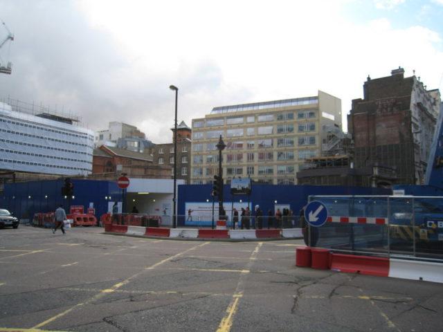 Where London Astoria once stood. Author:Sebastian Ballard – CC BY-SA 2.0