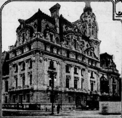 William A. Clark House. Author: The Tacoma Times