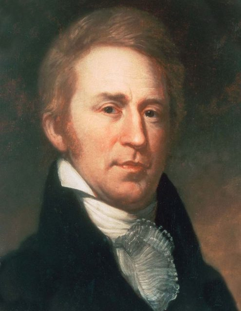 William Clark. Author:Charles Willson Peale