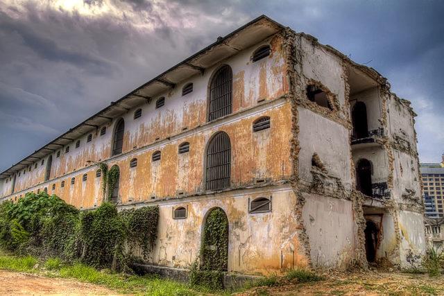 Wing B of the Pudu Jail/ Author:Ezry Abdul RahmanCC BY 2.0
