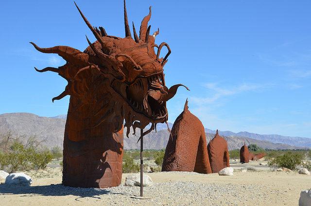 The sand dragon – Author: Rob Bertholf – CC BY 2.0