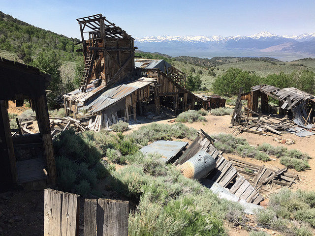 Chemung Mine mill – Author: The Greater Southwestern Exploration Company – CC BY 2.0