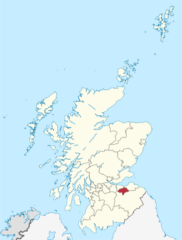 The location of Midlothian in Scotland. Author: TUBS – CC BY-SA 3.0