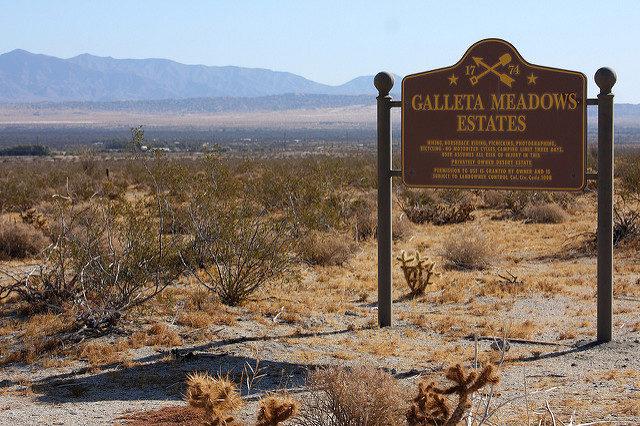 Galleta Meadows Estates Sign – Author: Sam Howzit – CC BY 2.0