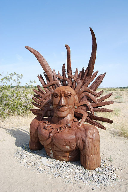Salvador Palma, leader of the Quechan tribe – Author: Matthew Dillon – CC BY 2.0