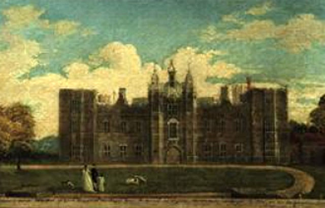 Painting of Cowdray House, 1790
