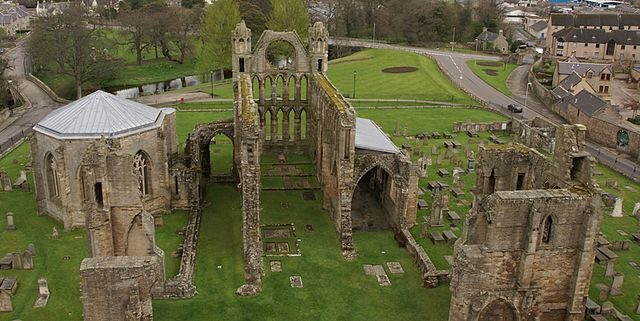 Panoramic view of the ruins. Author: Otter – CC BY-SA 3.0