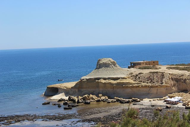 View of the battery from distance/ Author: Michelle Maria – CC BY 3.0