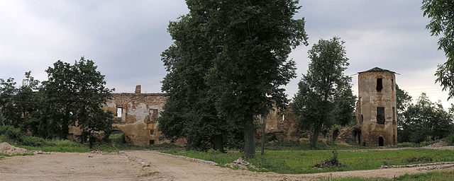 The ruins in 2007/ Author: Petro Vlasenko – CC BY-SA 3.0