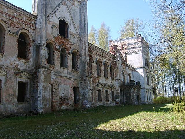 Preiļi Palace – Author: Semigall – CC BY-SA 3.0