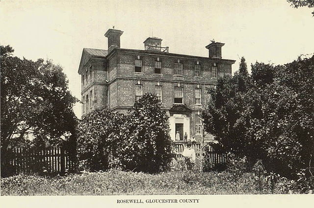 Before it burned to the ground in 1916