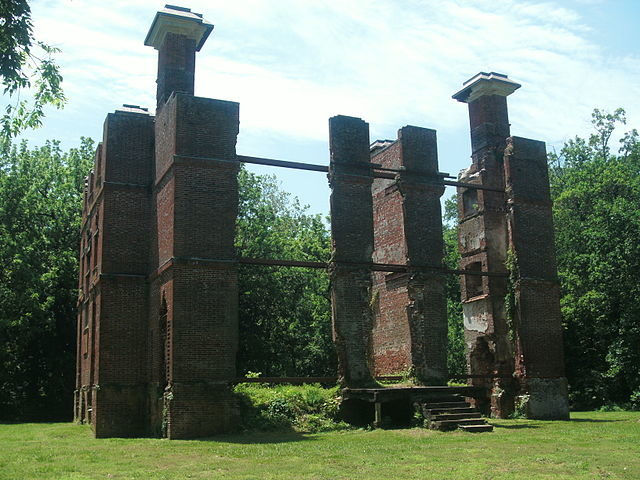 The ruins in 2013/ Author: AlbertHerring – CC BY-SA 3.0