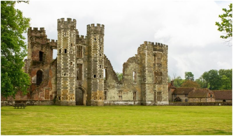 Cowdray Castle, England: A thousand years old history resides in the ruins