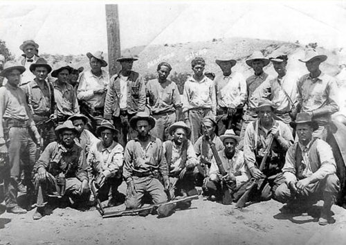 American posse raised to capture the Mexican bandits/ Author:Nogales Herald