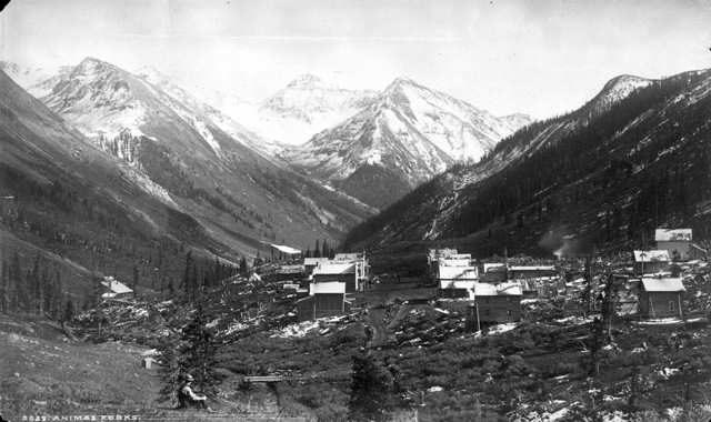 Animas Forks around 1878.
