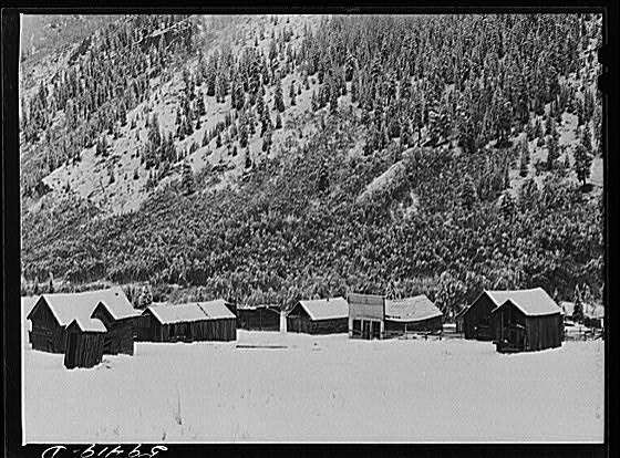 Ashcroft in 1941 during winter/ Author:Marion Post WolcottPublic Domain