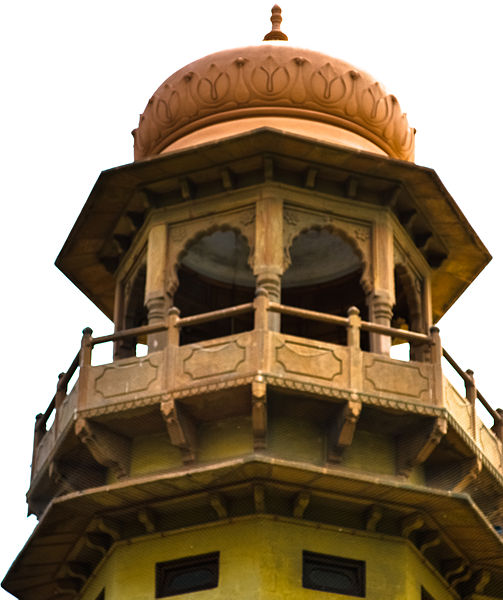Close-up of the Minaret. Author:Syed HussainHyder ZaidiCC BY-SA 3.0