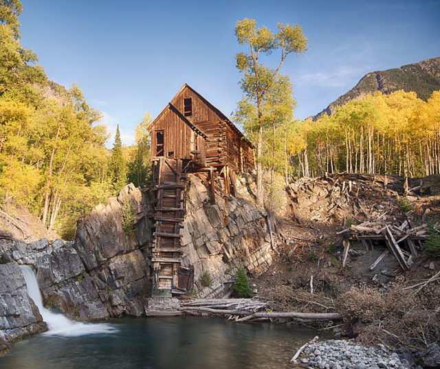 Crystal mill, 2012. Author:John FowlerCC BY 2.0