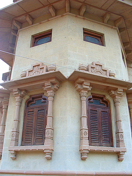 Detail of the facade. Author:ArsalabbasiCC BY-SA 3.0