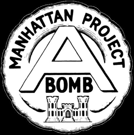 Emblem of the Manhattan project.