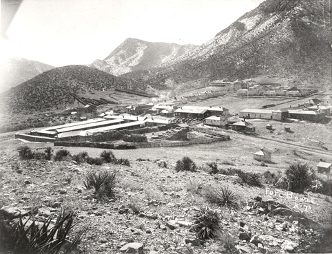Fort Bowie in 1893. Author:Sherman, James E; Barbara H. Sherman