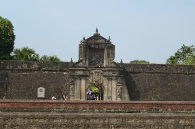 Fort Santiago today. Author:VolkswagenKing28CC BY-SA 3.0