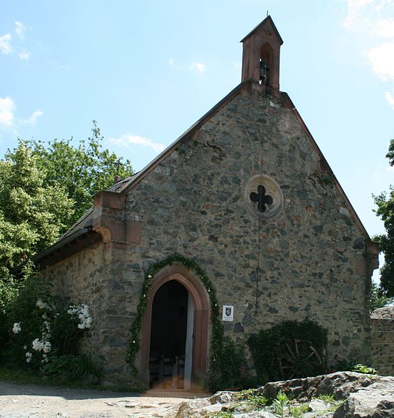 Frankenstein Castle – Chapel. Author:Pascal RehfeldtCC BY-SA 3.0