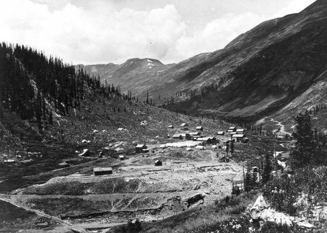 General view of Animas Forks.