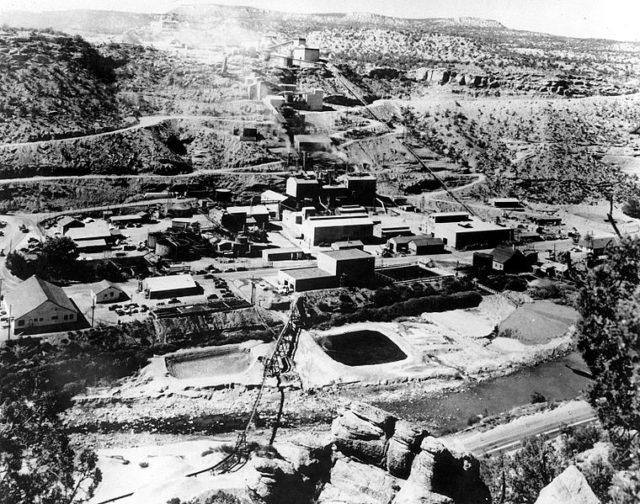 General view of Uravan Mill