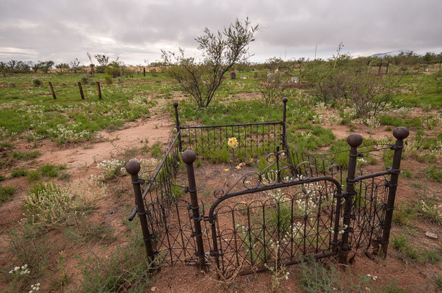 Gleeson Cemetery. Author:StellarDCC BY-SA 3.0