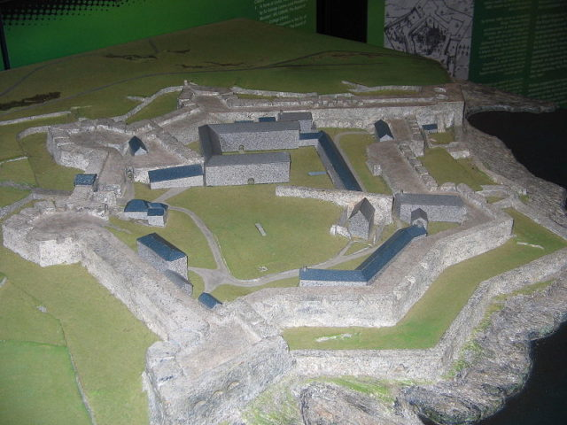 Model of the fort. Author:Chmee2CC BY-SA 3.0