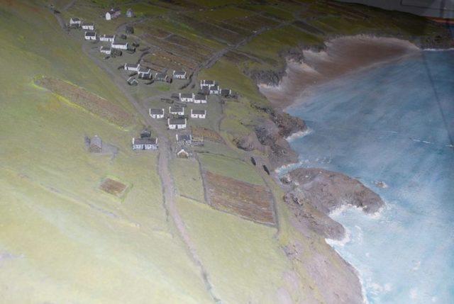 Model of the village/ Author:Erik ChristensenCC BY-SA 3.0
