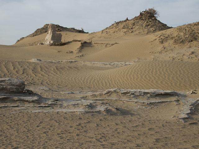 Niya ruins. Author:Vic SwiftCC BY-SA 1.0