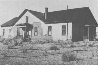 Old photo of the hospital. Author:Arizona Historical SocietyPublic Domain