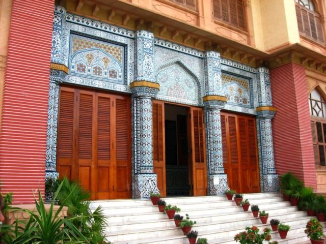 One of the entrances to the house. Author:Shahid1024Public Domain