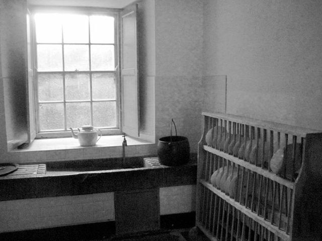 Part of the kitchen. Author:Leslie Noelle SullivanCC BY-SA 4.0