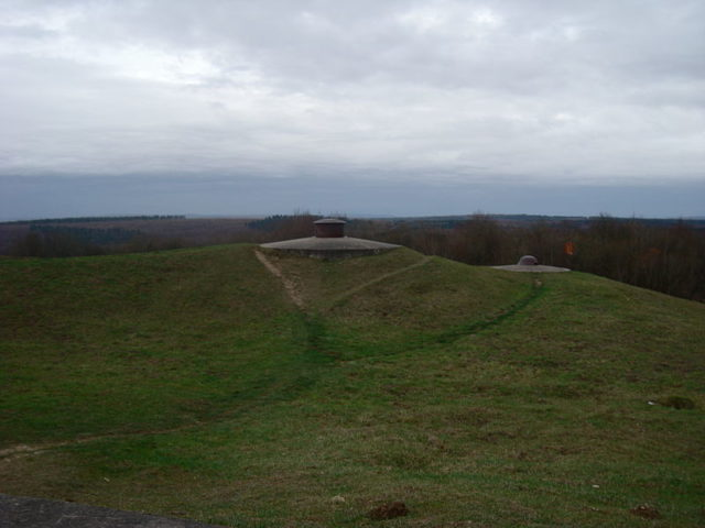Part of Fort Douaumont'sdefenses/ Author:Eric T GuntherCC BY 3.0