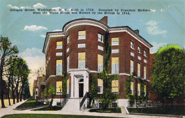 Postcard of Octagon House