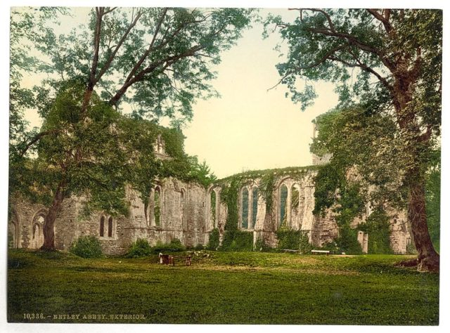 The abbey at the start of the 20th century. Author:Photochrom Print CollectionPublic Domain