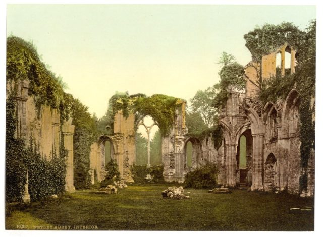 The abbey at the start of the 20th-century alternative view. Author:Photochrom Print CollectionPublic Domain
