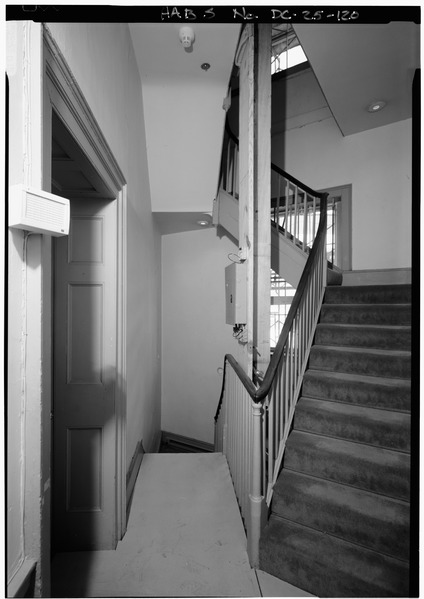 The back stairs/ Author: Library of Congress Prints and Photographs Division Washington