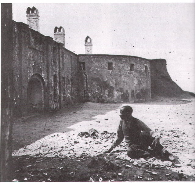 The castle in 1861. Author:South Carolina Historical SocietyPublic Domain