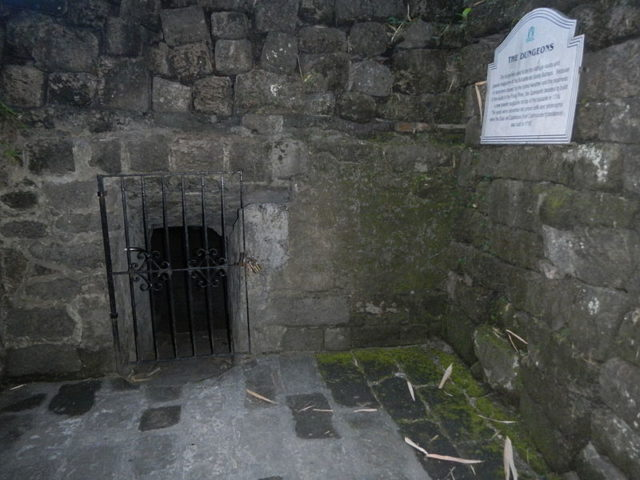 The Dungeons of Fort Santiago. Author:Ramon FVelasquezCC BY-SA 3.0