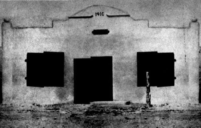 The jail in 1910. Author:Cochise County Sheriff's OfficePublic Domain