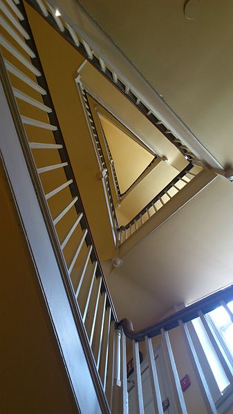 The service staircase/ Author: Payton Chung CC BY 2.0
