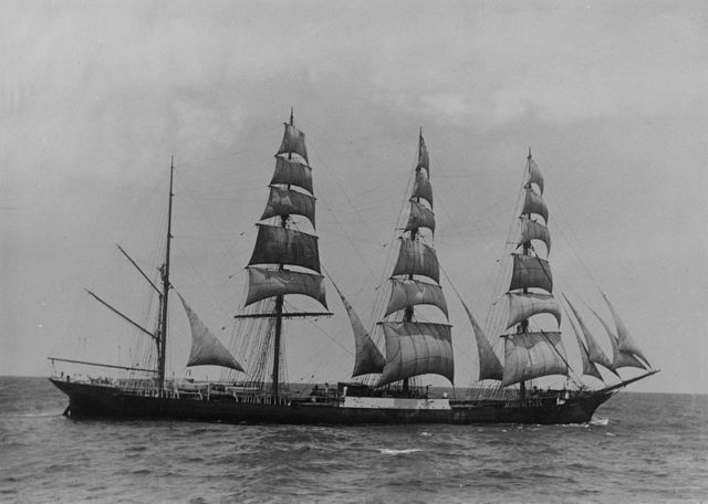 The ship in 1904/ Author:Australian National Maritime Museum