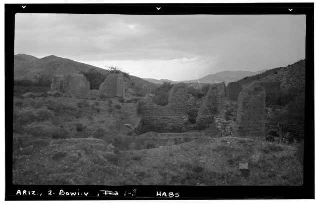 The site of the fort in 1937. Author:Library of Congress