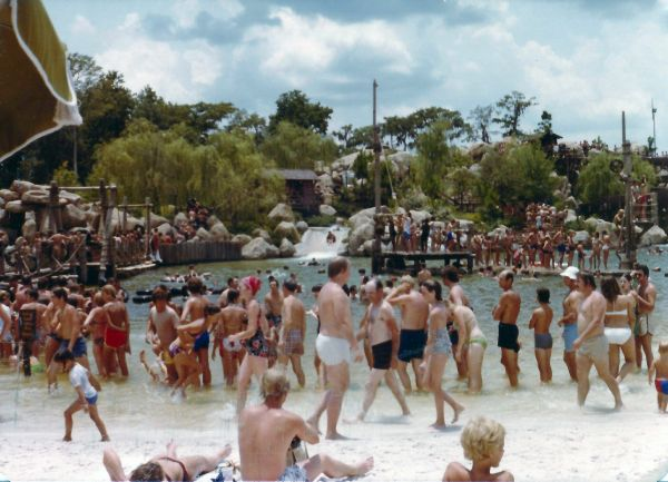 The water park in 1977